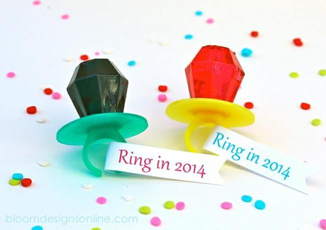 Ring in 2014 {free printable}