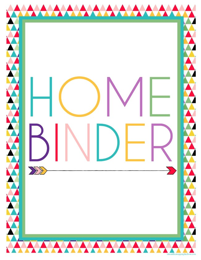 13 Printable Binders For Easy Organization Tip Junkie