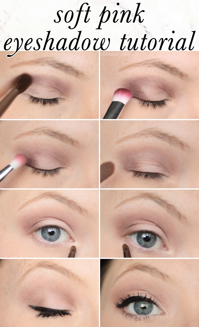 Soft Pink Eyeshadow Tutorial