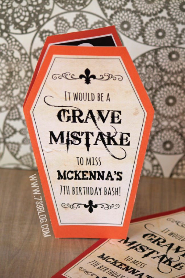 Free Halloween Printable Invitation