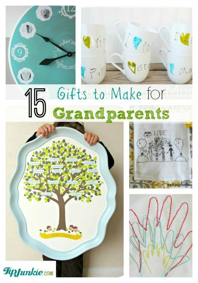 15 Thoughtful Gifts to Make for Grandparents – Tip Junkie