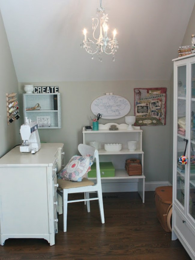 Family Craft Room Inspiration {Kids Craft Room}