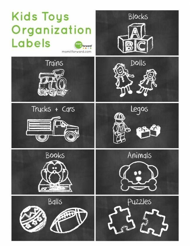 Kids Toy labels