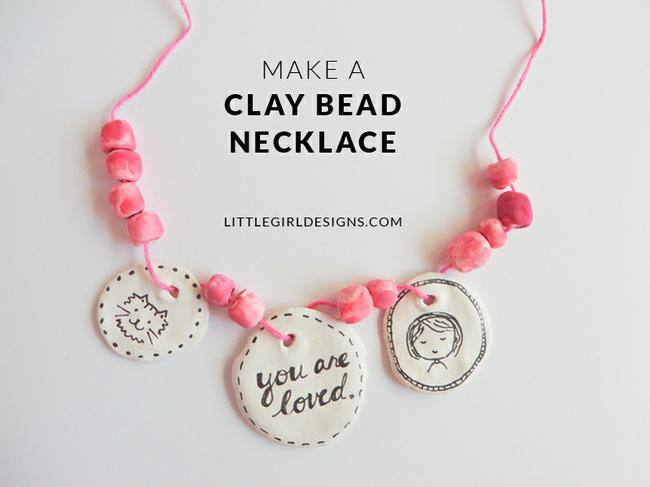 Make a Clay Bead Necklace