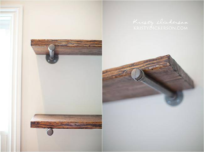 Restoration Hardware Inspired Shelves {Shelves}