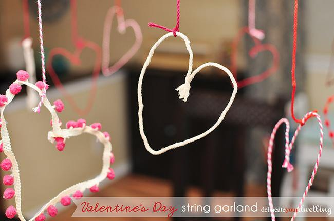 Valentine's Day String Garland