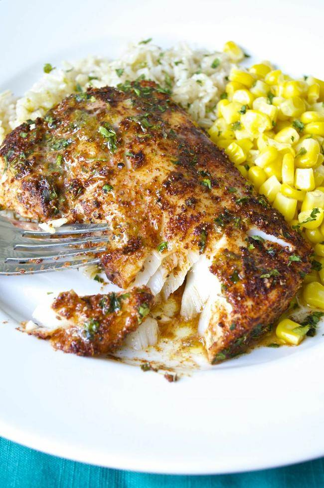 roasted chili lime cod