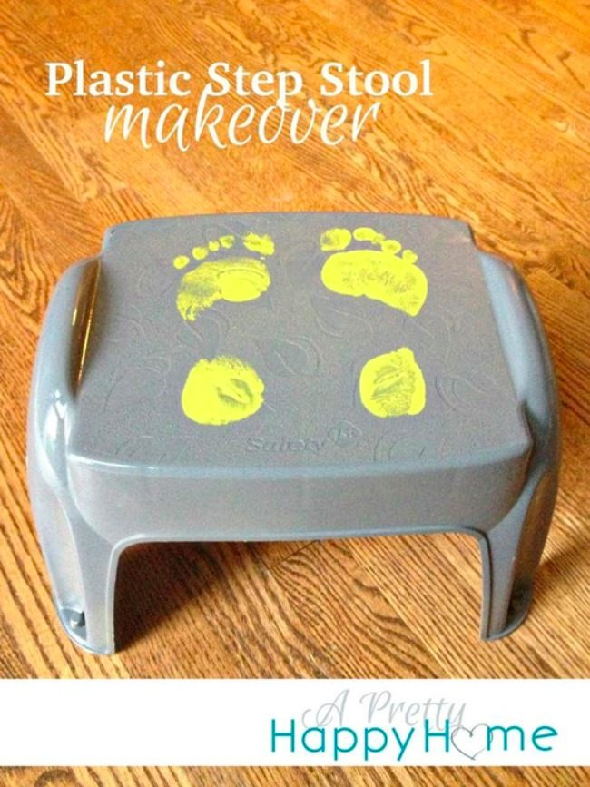 Plastic Step Stool-png