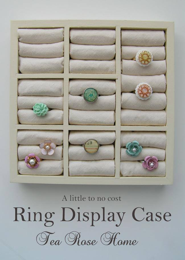 DIY Ring Storage {Jewelry Storage and Display}