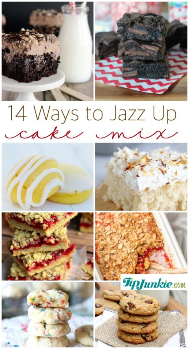 Ways To Jazz Up A Cake Mix