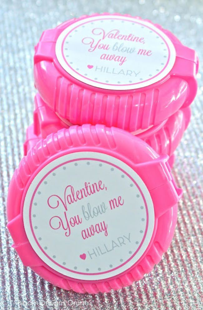 You Blow Me Away Printable Valentine {Valentines Printable}
