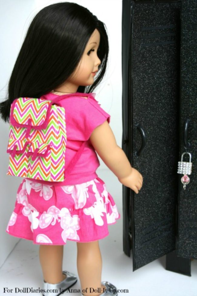 Duck Tape Doll Backpack
