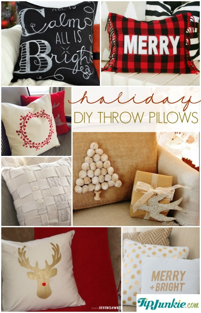 14 Lovely DIY Holiday Throw Pillows-jpg