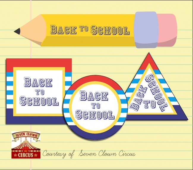 Back to School Tags {free printables}
