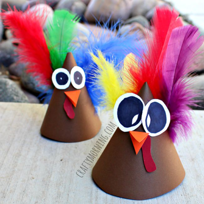 Turkey Cones Craft Ideas
