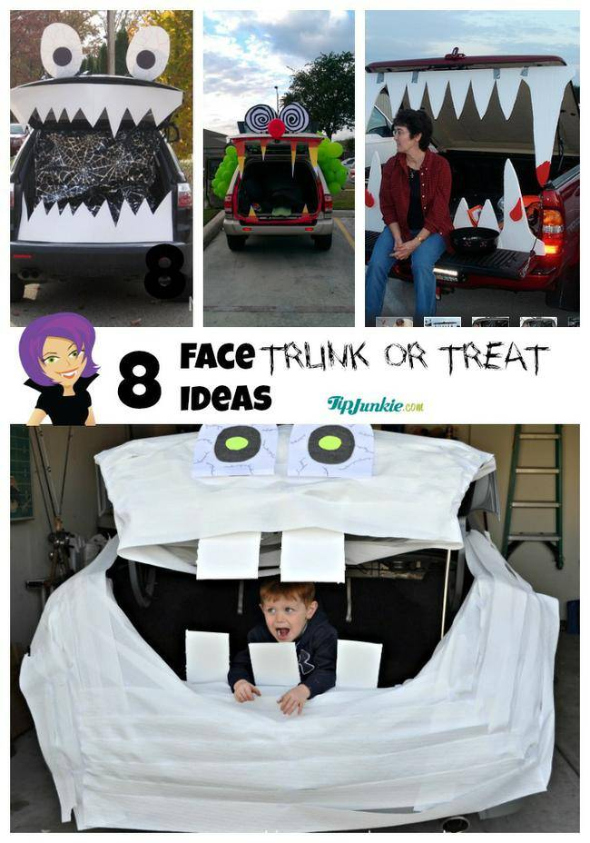Face Trunk or Treat Ideas