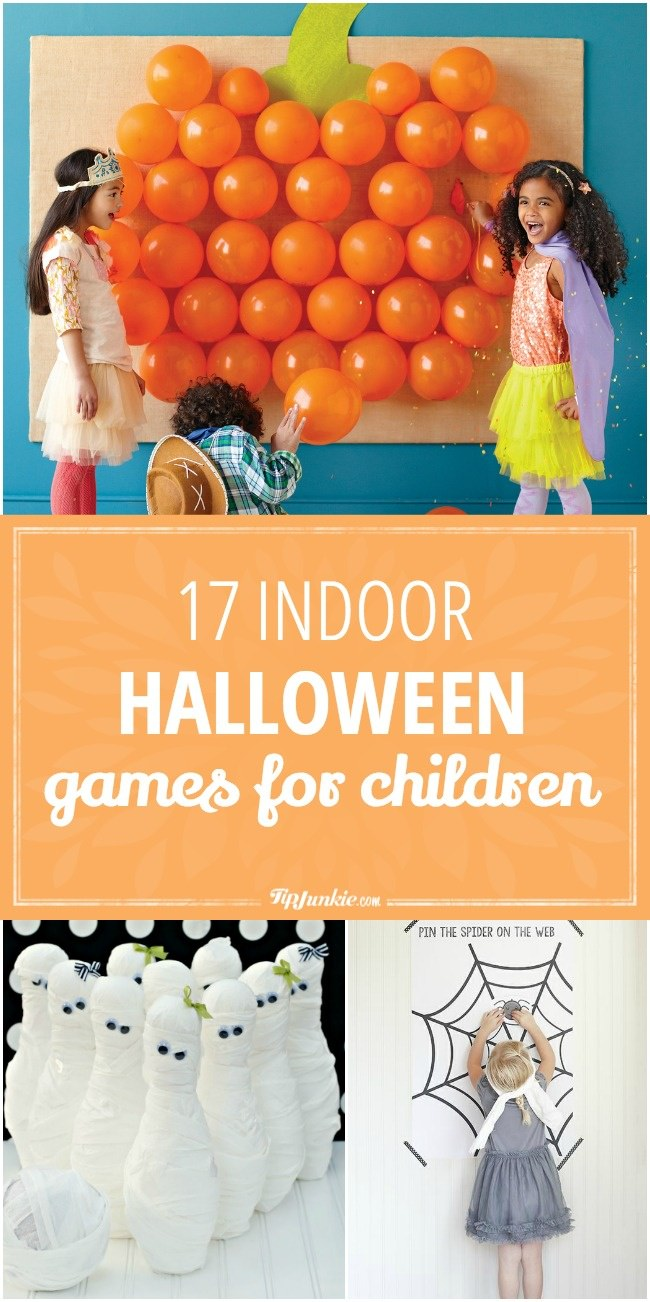 17 Indoor Halloween Games for Children