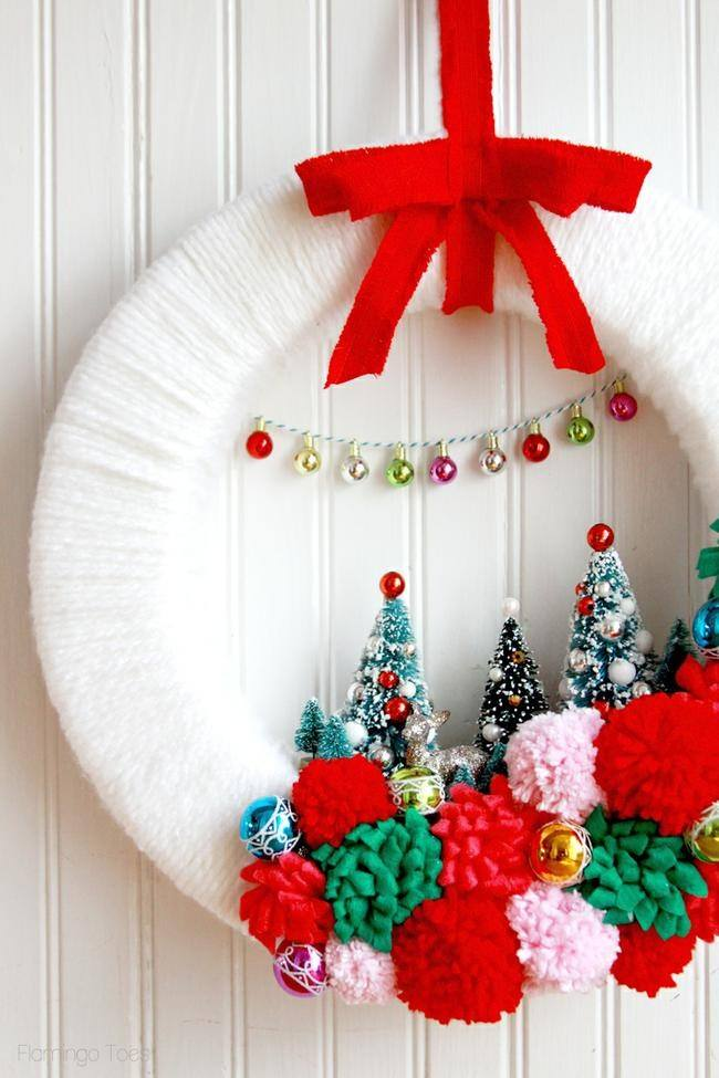 Make Christmas Wreath