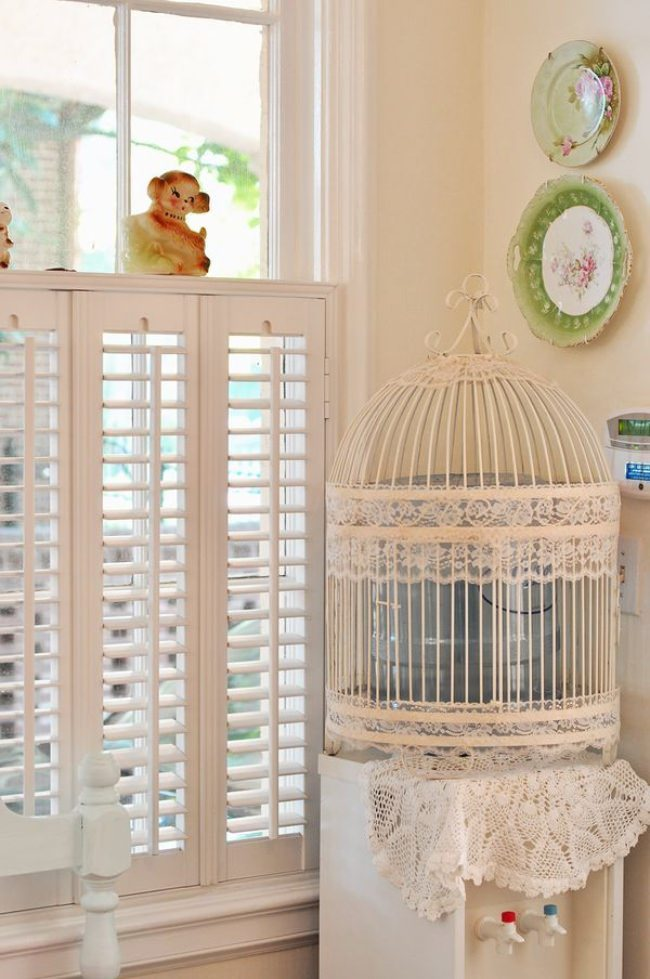Bird Cage Water Cooler Cover