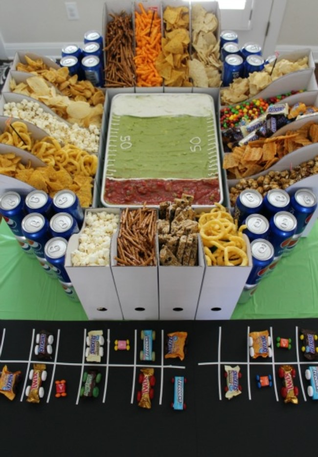 How to Build the Ultimate Snack Stadium
