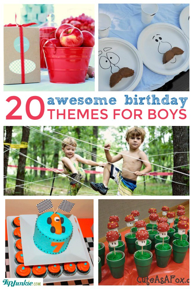 20 Amazing Boy Party Themes Party Ideas Tip Junkie