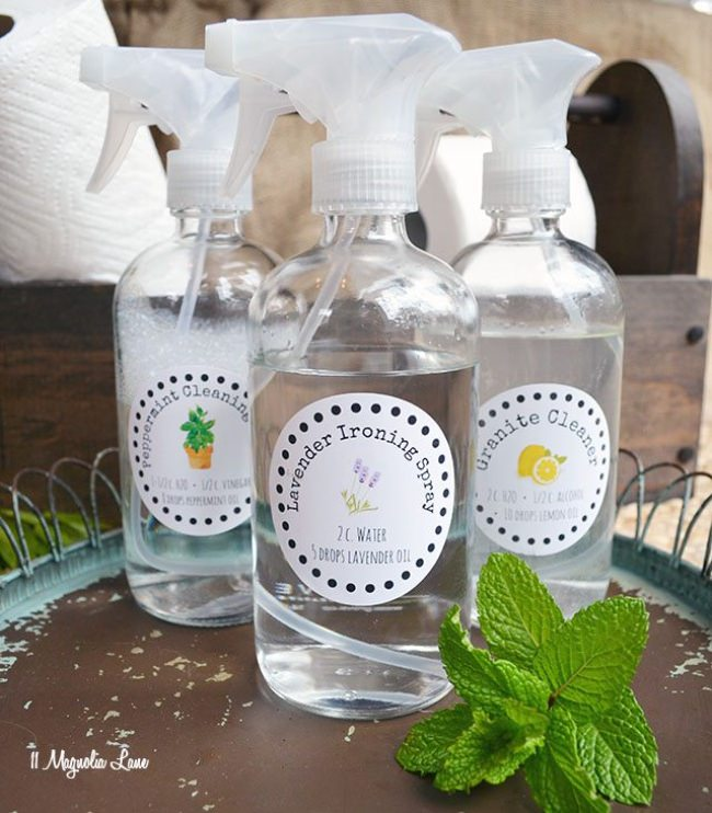 Natural Cleaning Labels