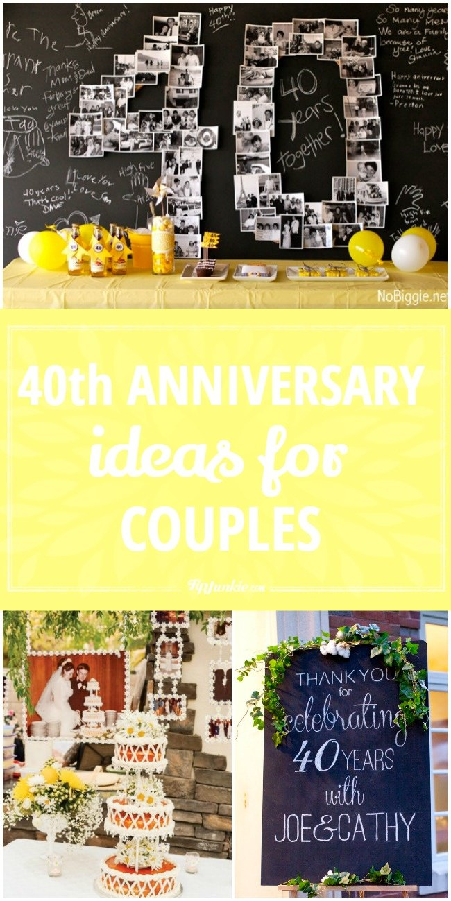 40th anniversary ideas for couples tip junkie 40th anniversary ideas for couples jpg negle
