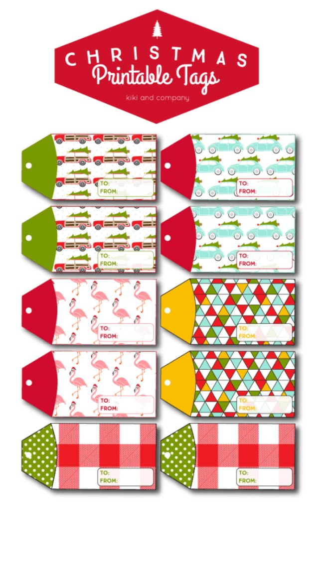 Christmas Printable Gift Tags