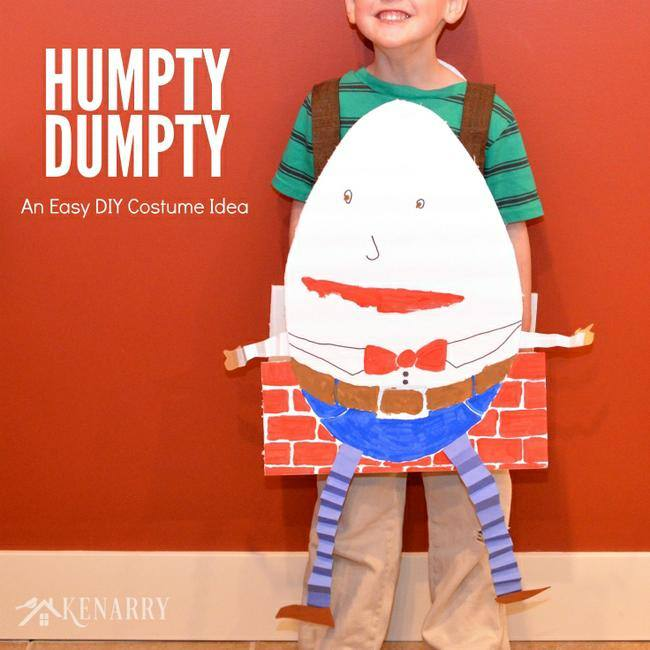Humpty Dumpty Costume for Kids