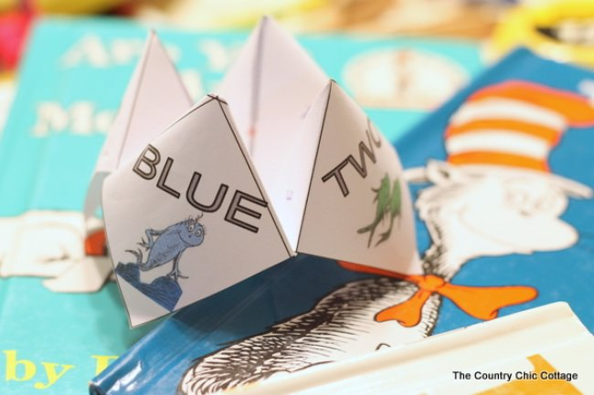 Dr. Seuss Cootie Catcher