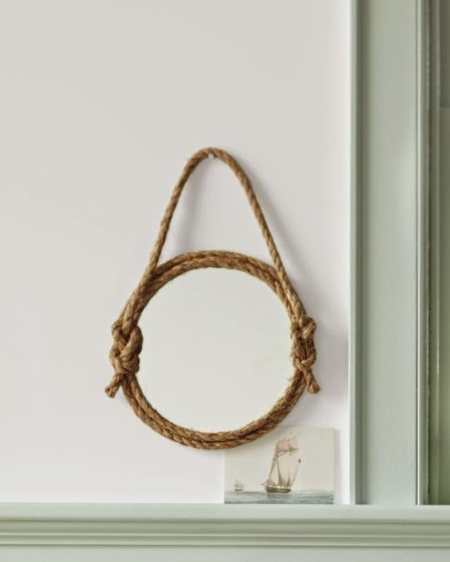 How to Make a Rope Mirror