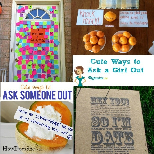 Cutest Ways To Ask A Girl Out