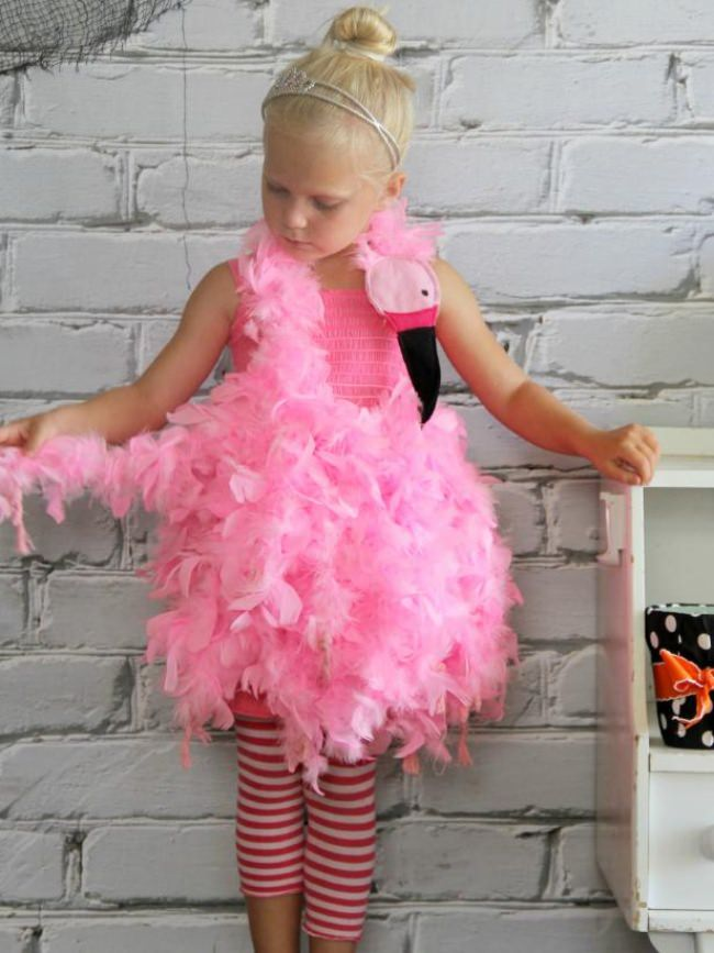 Pink Flamingo costume