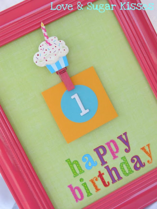 Birthday Countdown Frame {Birthday Countdown}