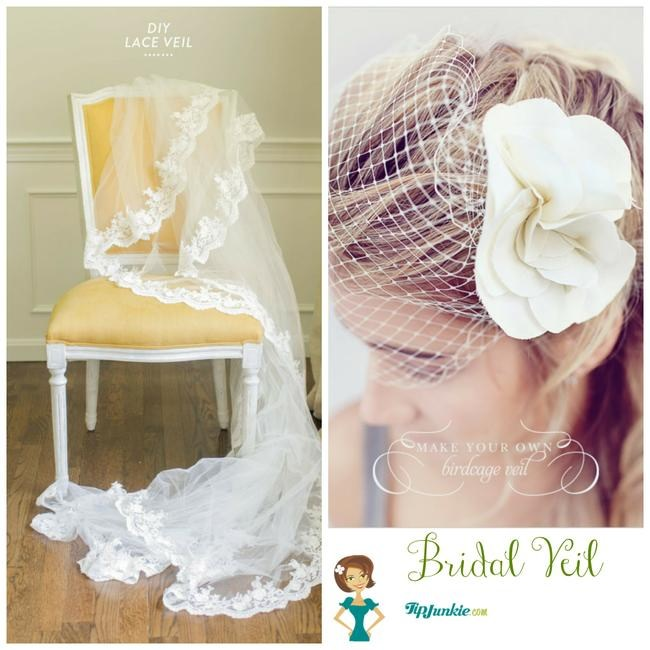 Bridal Hair Diy: 11 DIY Bridal Hair Accessories For Your Perfect Day