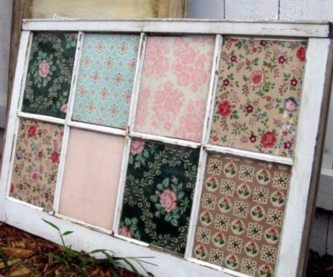 Vintage Wallpaper Window
