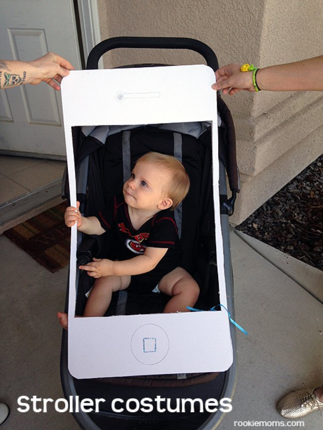 iPhone Stroller Costume