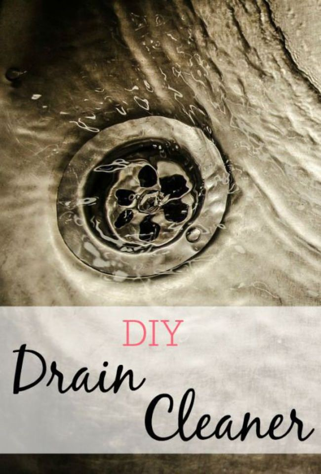 DIY Drain Cleaner