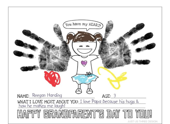 Grandparents Day Printable