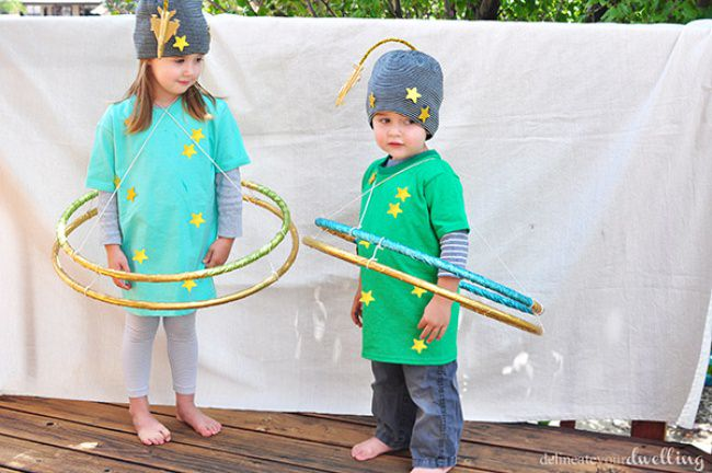 DIY Planet Halloween Costumes