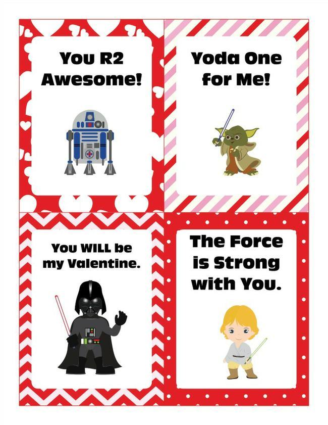 Star Wars Valentine Cards
