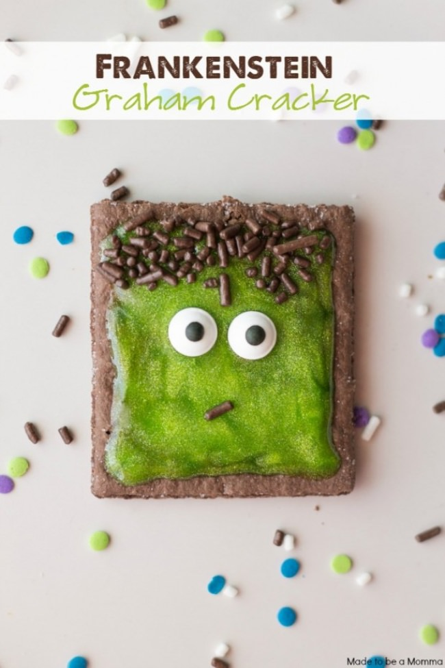 Frankenstein Graham Cracker