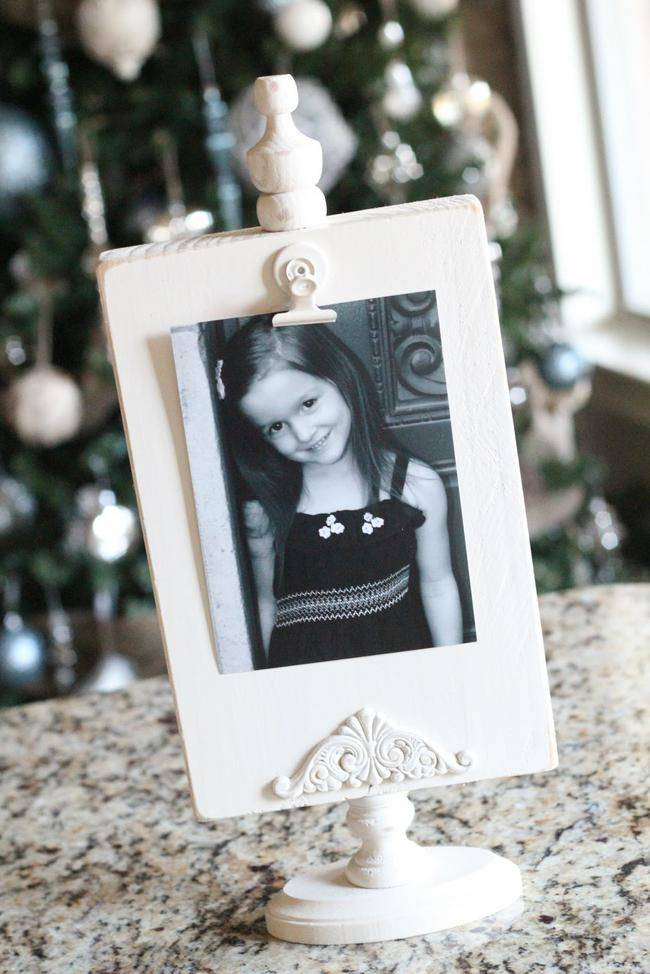Thrifty Wood Photo Frame