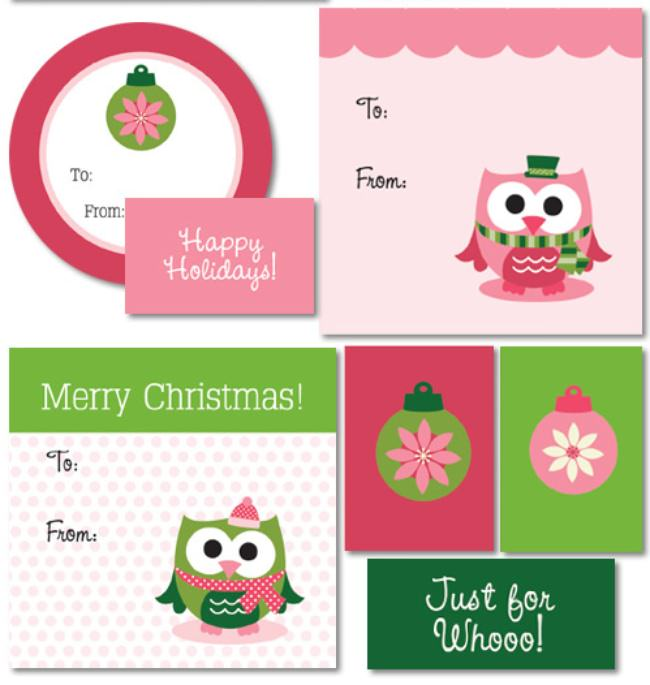 17 free printable christmas gift tags tip junkie printable gift tags negle Images