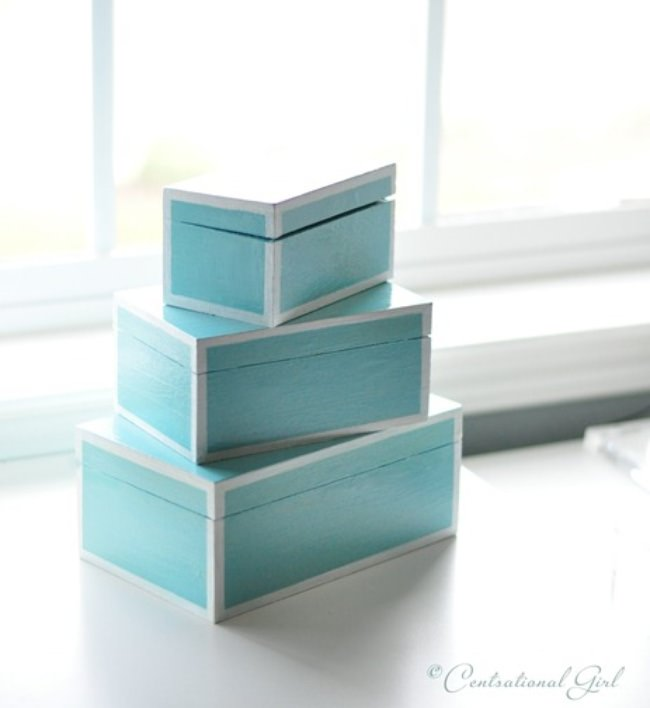 Laquer Lookalike Boxes DIY
