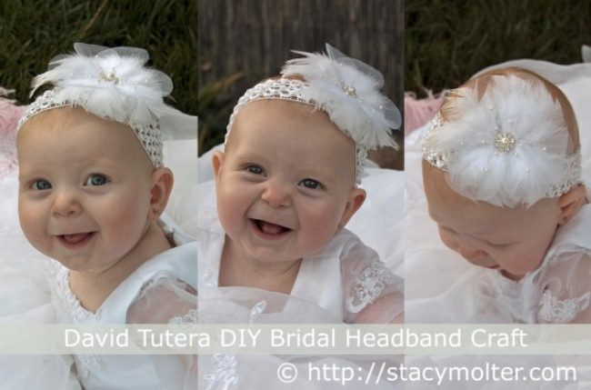 DIY Bridal Headband Craft