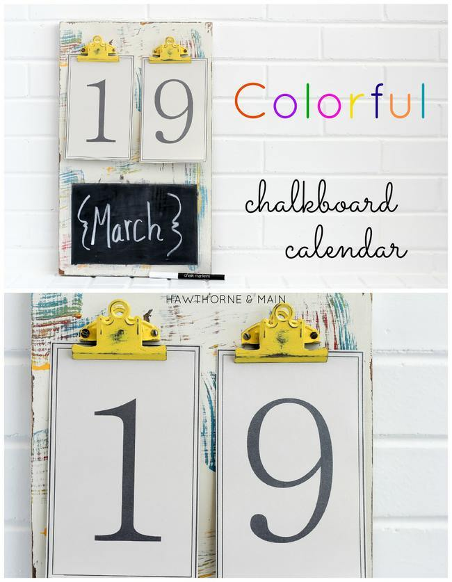 Chalk board with yellow clips TITLE-jpg