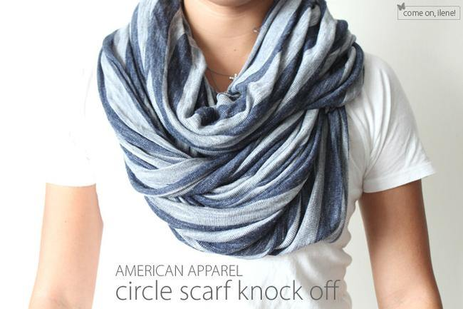 American Apparel Inspired Infinity Scarf {Women's Accessories}