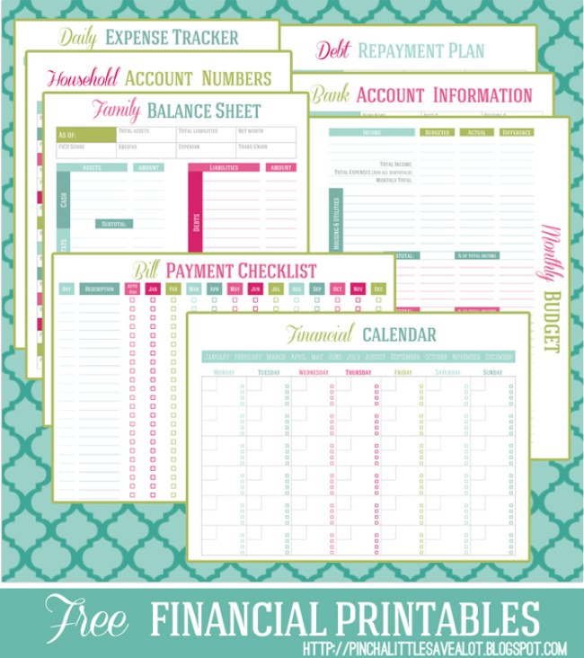 Money Management Binder