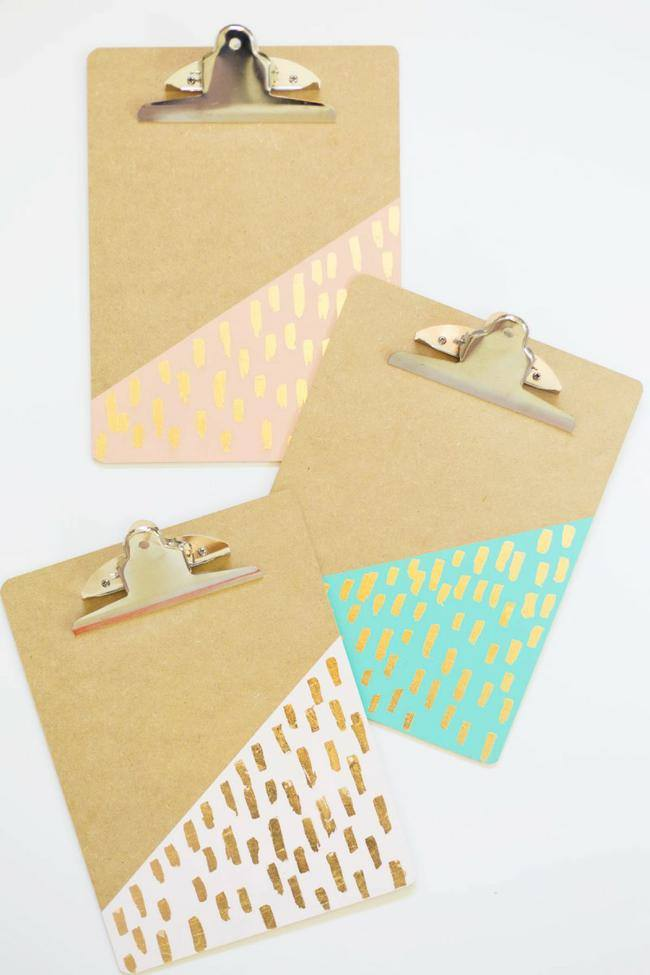 11 Diy Cute Clipboard Ideas To Help Organize Your Life Tip Junkie